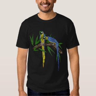 Blue & Gold Macaws Shirts