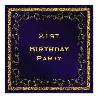 Boys 21st Birthday Invitations & Announcements | Zazzle.com.au
