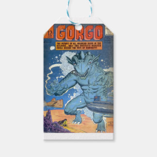 Blue Gorgo Gift Tags