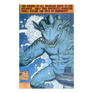 Blue Gorgo Stationery