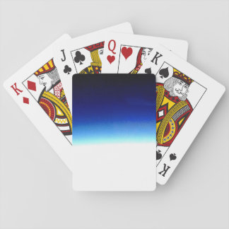 Blue Gradient Playing Cards