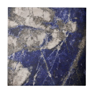 Blue granite ceramic tile