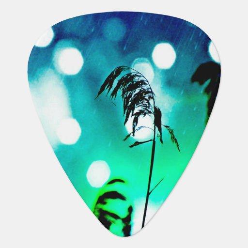 Blue Grass Jazz Sparkle Guitar Pick