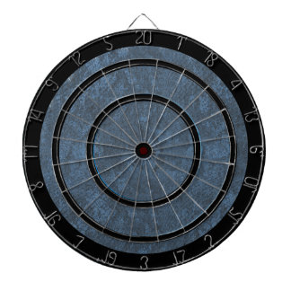Blue Gray and Black Regulation Dart Board
