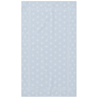 Blue Gray and White Elegant Damask Style Pattern Tablecloth