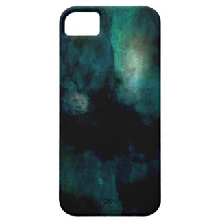 Blue Green Abstract Grunge iPhone 5 Case