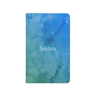 Blue Green Abstract Grunge Journal