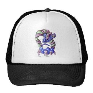 Blue Green and Purple Shell Dinosaur Hats