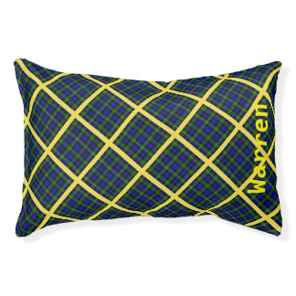 Blue, Green and Yellow Plaid