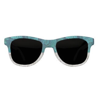 Blue-Green & Grey Nature Statement Sunglasses