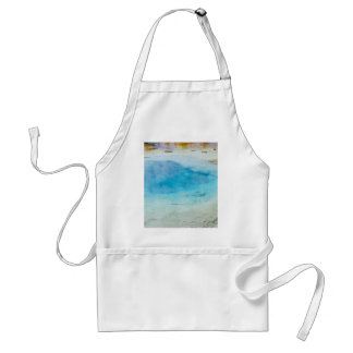 Blue Green Hot Spring Aprons