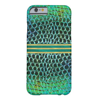 Blue Green Jewel Pattern iPhone 6 Case Barely There iPhone 6 Case