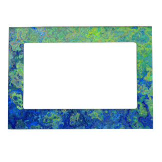 Blue Green Magnetic Picture Frame
