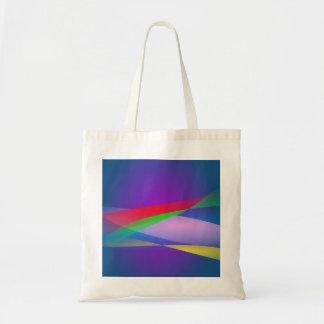 Blue Green Minimalism Abstract Art Tote Bag