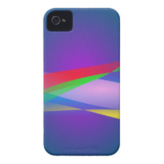 Blue Green Minimalism Abstract Art iPhone 4 Case