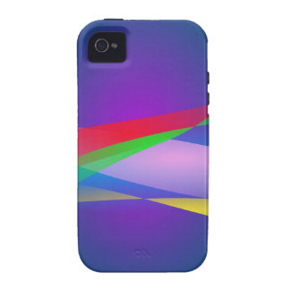 Blue Green Minimalism Abstract Art Case-Mate iPhone 4 Case