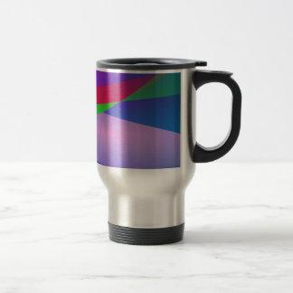 Blue Green Minimalism Abstract Art Coffee Mug