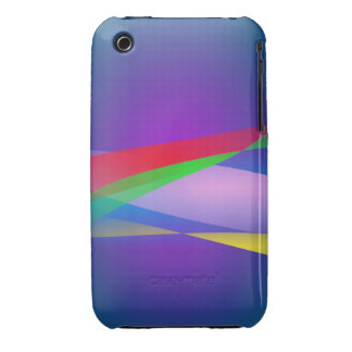 Blue Green Minimalism Abstract Art iPhone 3 Cover