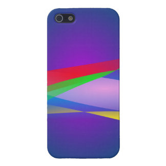 Blue Green Minimalism Abstract Art iPhone 5 Case