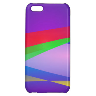 Blue Green Minimalism Abstract Art iPhone 5C Case