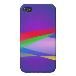 Blue Green Minimalism Abstract Art iPhone 4/4S Cases