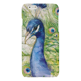 Blue Green Peacock iPhone Case