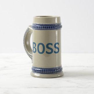Blue/Grey Boss Mug