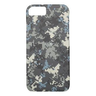 Blue Grey iPhone 7 case camo case