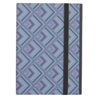 Blue-grey stripes scale pattern case for iPad air