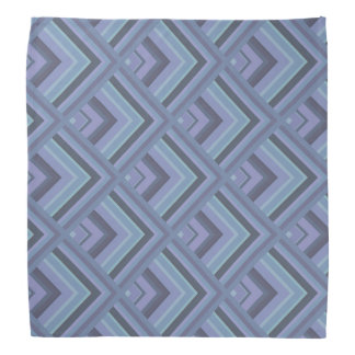 Blue-grey stripes scale pattern do-rags