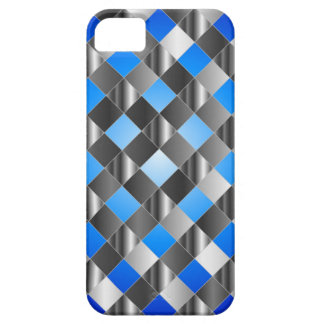 Blue grid background case for the iPhone 5
