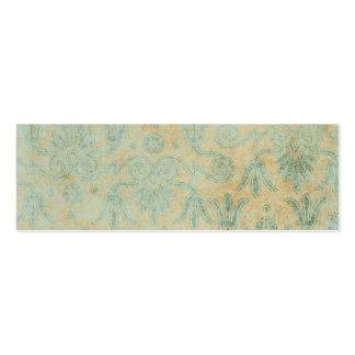 Blue Grunge Decorative Pattern background Business Card