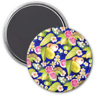 Blue guava flowers Magnet