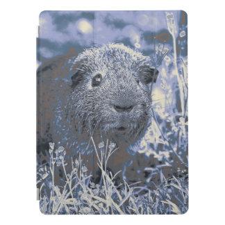blue guinea pig iPad pro cover