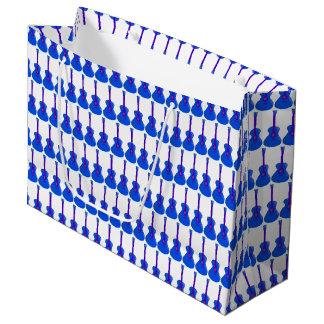 blue guitars gift bag