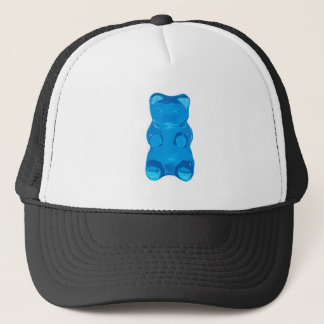 Blue Gummybear Illustration Trucker Hat