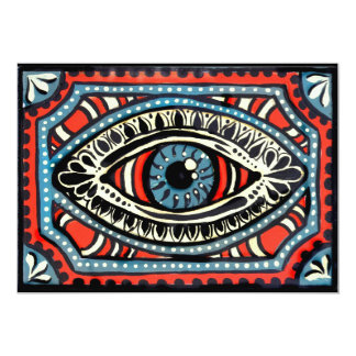 Blue Gypsies Eye Card