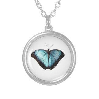 Blue Gypsy Butterfly Necklace