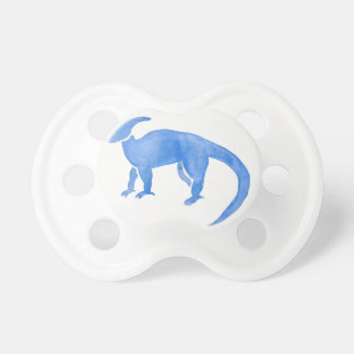 Blue Hadrosaur Baby Pacifiers