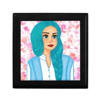 Blue Hair Gift Box