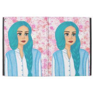 Blue hair girl