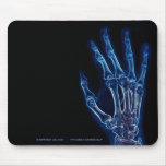 Blue Hand X-ray  mousepad