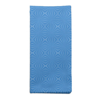 Blue Hannakah Squiggly Squares Napkin