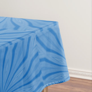 Blue Hanukkah Streaks Tablecloth