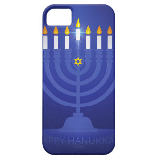blue happy hanukkah iPhone 5 covers