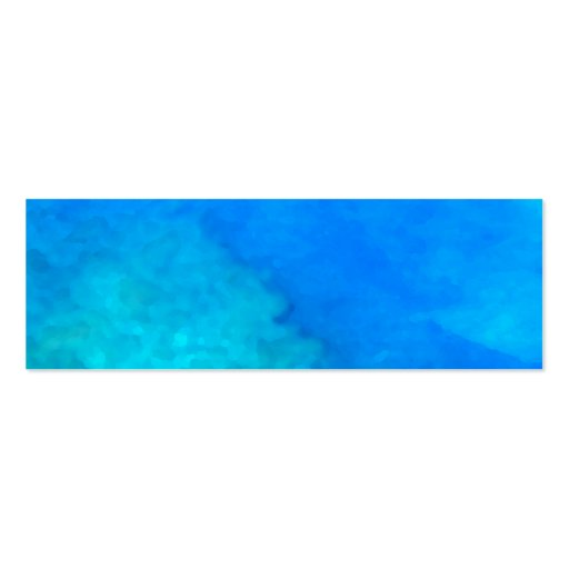 Blue Hawaii Business Card Template