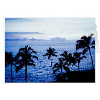 Blue Hawaii Card