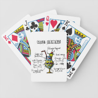 Blue Hawaii Cocktail Recipe Bicycle Playing Cards