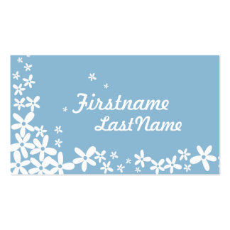 Blue Hawaii Flowers Business Cards