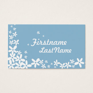 Blue Hawaii Flowers Business Cards